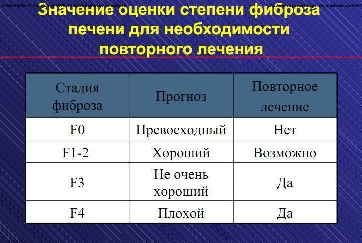 фиброз печени 2 степени прогноз лечение