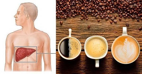 Кофе вредно для печени