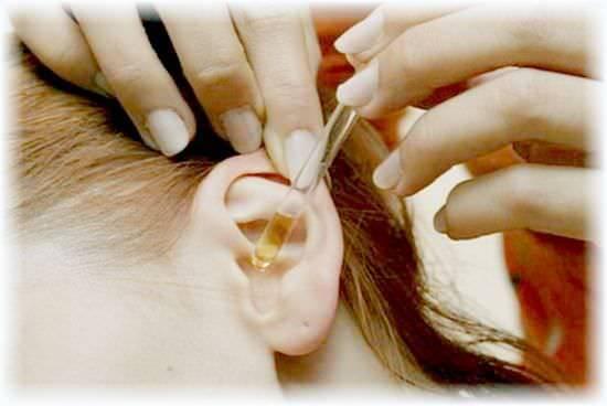 народные средства от заложенности уха
