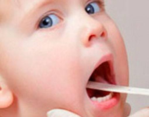 признаки ангины у ребенка 1 год