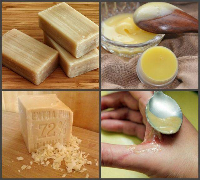 Лечение геморроя хозяйственным мылом