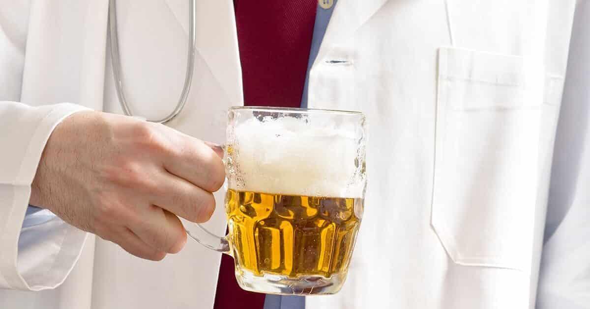 лечение горла пивом