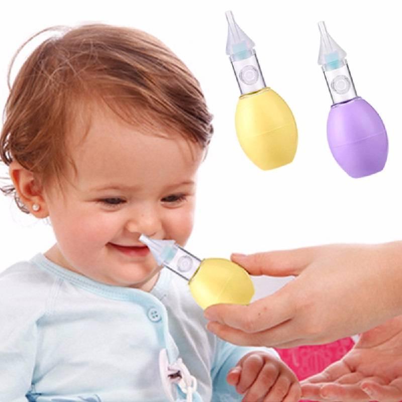 как убрать сопли у младенца