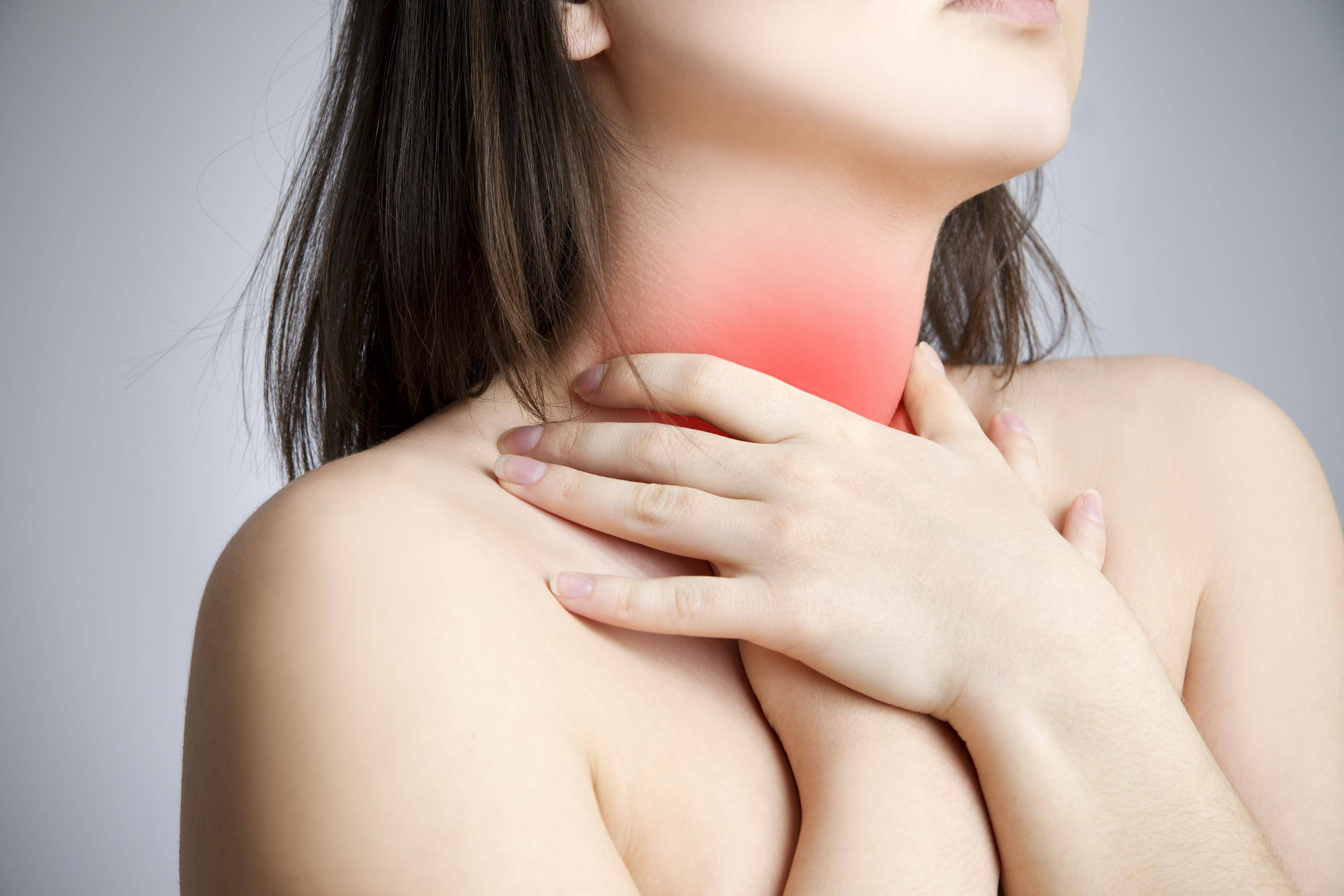 Односторонняя боль в горле при глотании