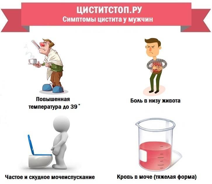 лечение хронического цистита у мужчин препараты