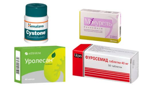 Какие препараты назначают мужчинам для лечения цистита