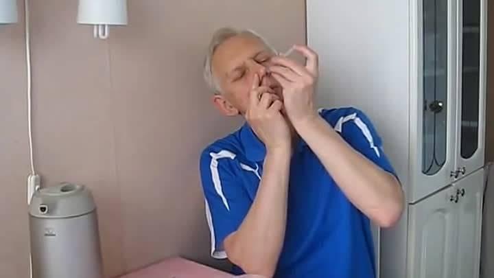 лечение гайморита перекисью