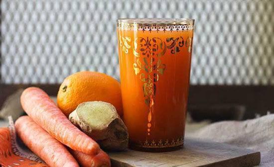Лечение насморка соком моркови