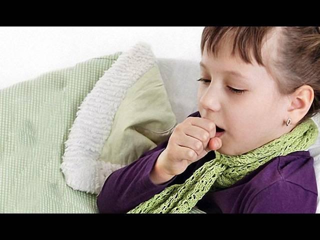 Лечим горловой кашель у детей