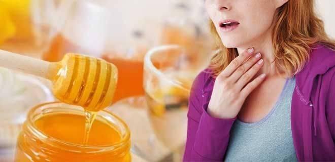 Целебный мёд: как вылечить медом горло за 3 дня