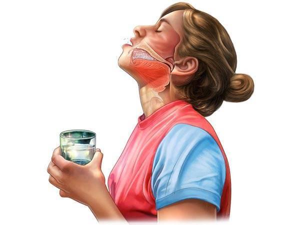 Как полоскать солью горло? приготовление солевого раствора. пропорции