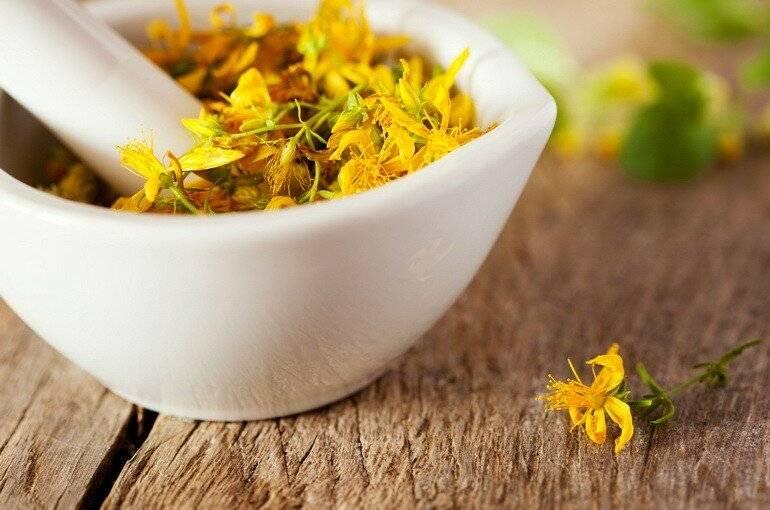 Лечение депрессии народными средствами: рецепты травяных сборов