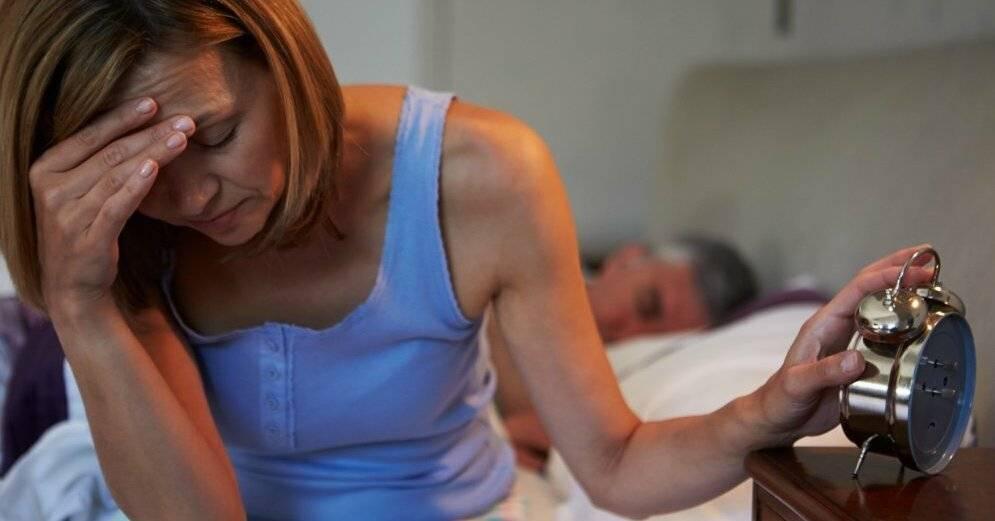 как лечить бессонницу при климаксе