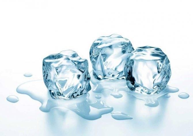 Лечение геморроя льдом