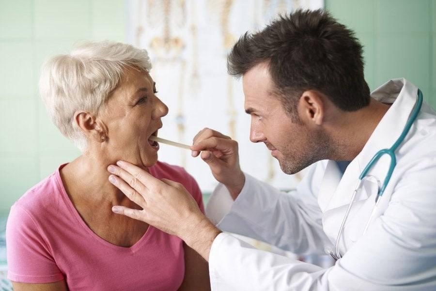 Острый тонзиллит: симптомы и лечение