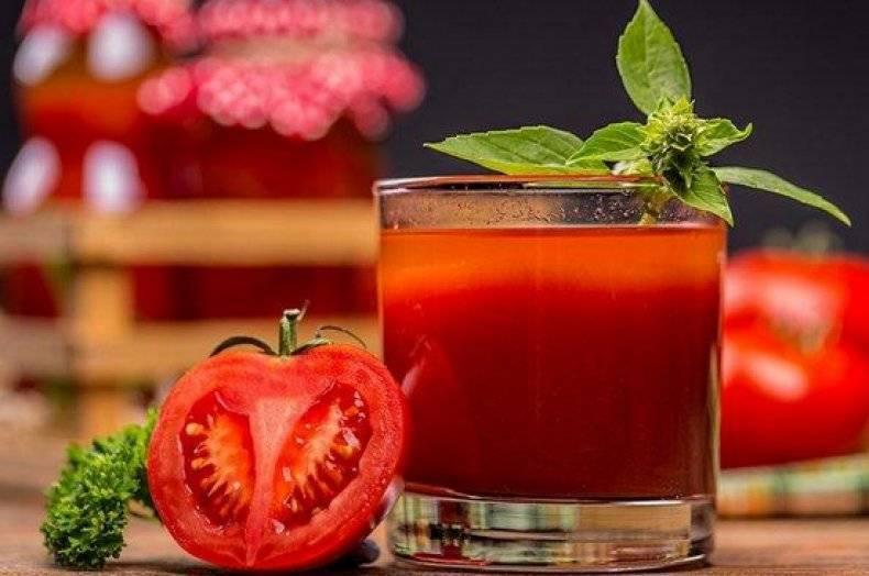 Польза и вред томатного сока для печени