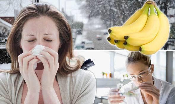 Банановое пюре от кашля для детей
