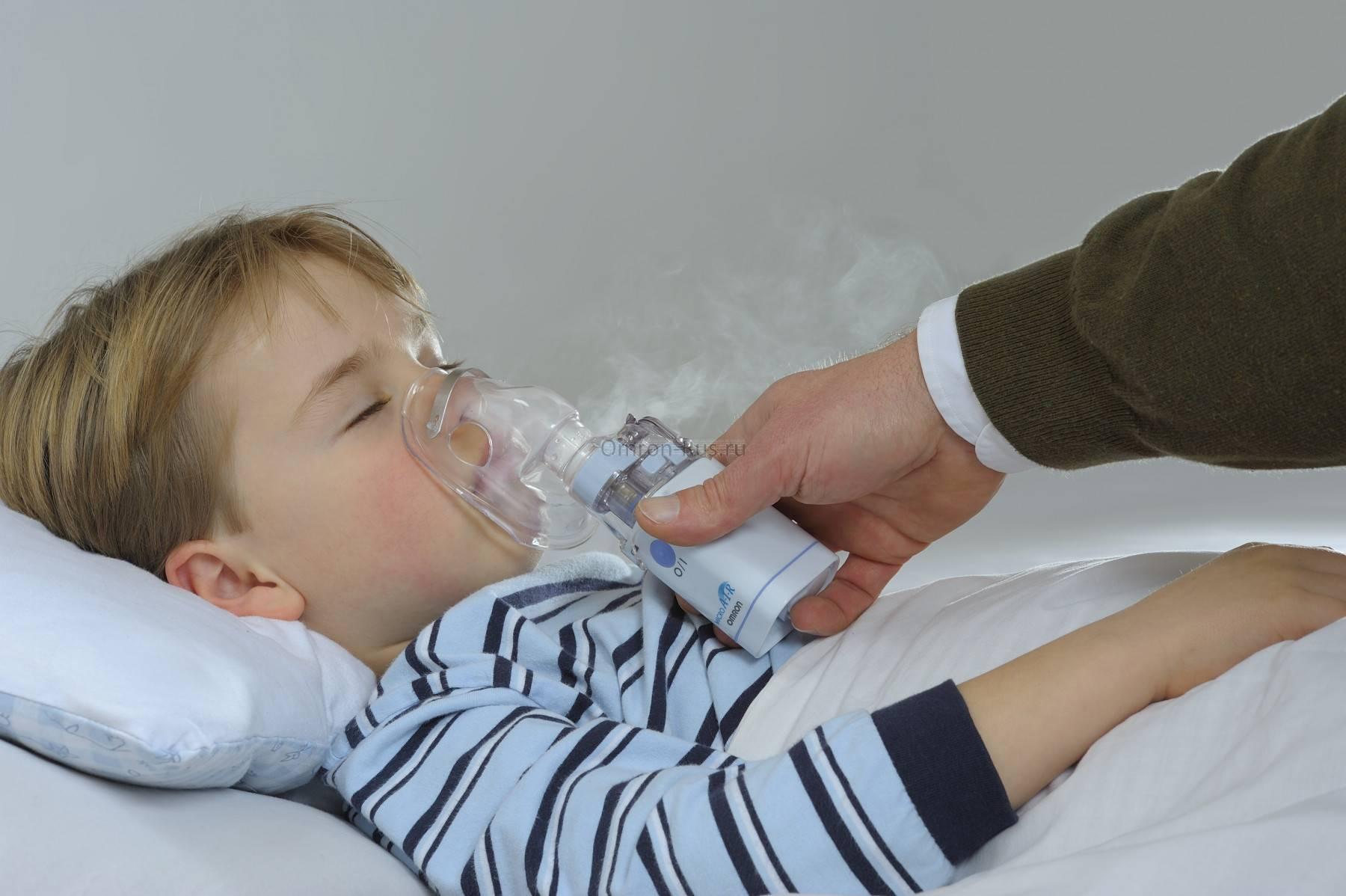 Ингаляции при сухом кашле: небулайзером детям и взрослым, паром, спреями