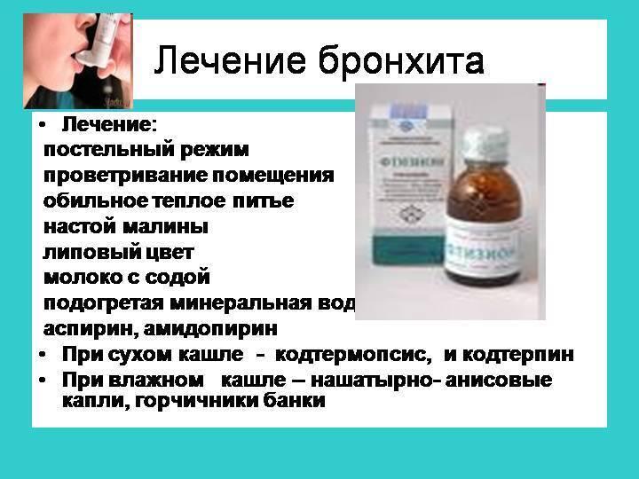Как лечить остаточный кашель после бронхита народными средствами