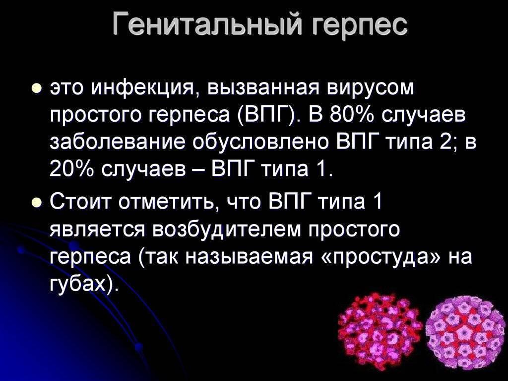 Профилактика рецидивов генитального герпеса