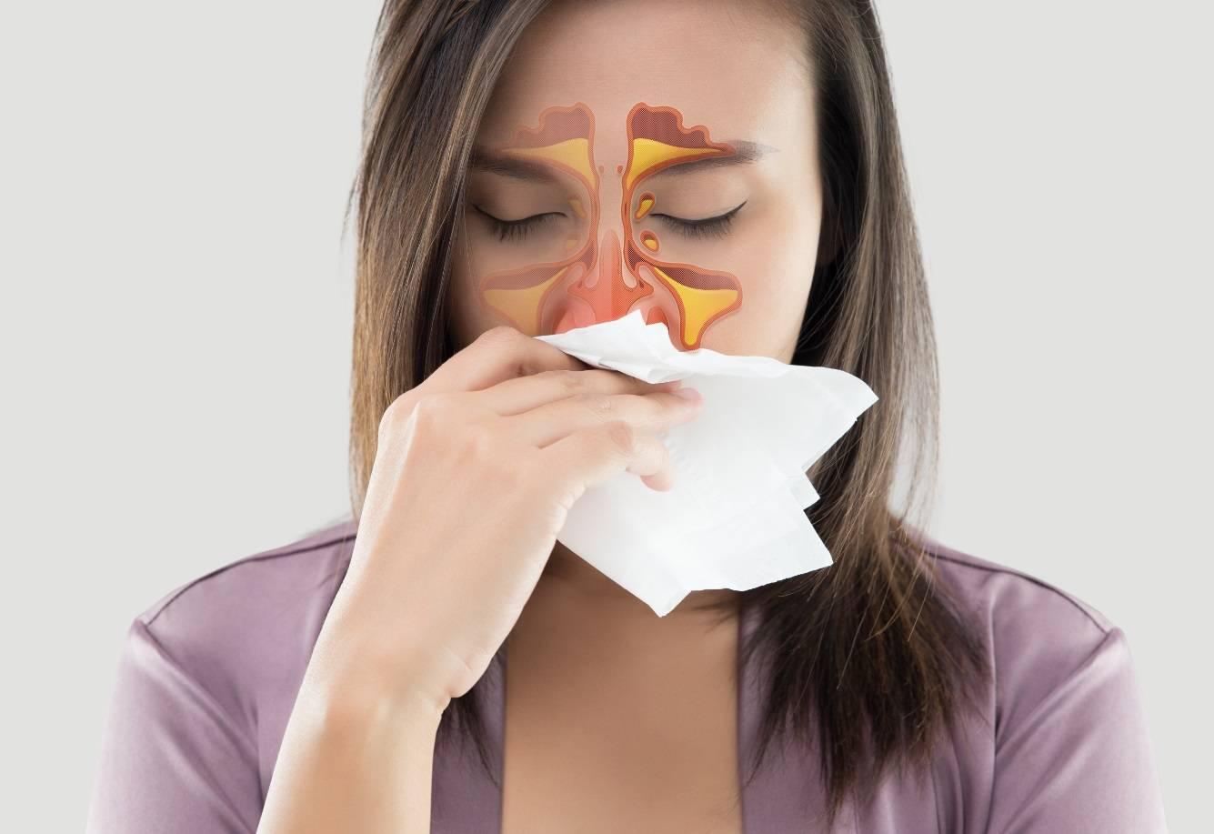 болит нос внутри