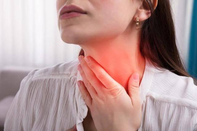 Болит горло слева глотать не больно