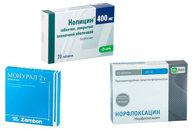 какие антибиотики при цистите у женщин