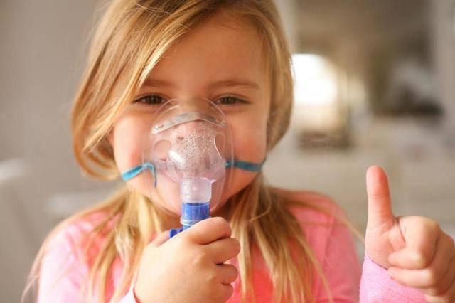 ингаляции при сухом кашле детям
