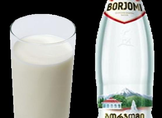 молоко с боржоми от кашля рецепт