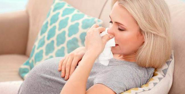 Распространённый недуг беременных мамочек— заложенность носа при беременности-советы в календаре беременности на babyblog.ru