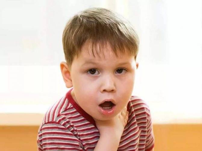 Приступы кашля у ребенка до рвоты: почему возникают и как лечить