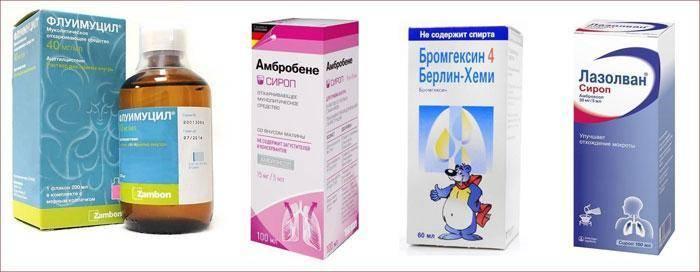 чем лечить кашель у ребенка 2 года