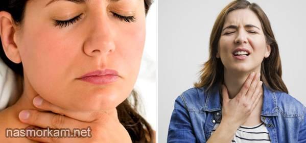 Постоянное першение в горле и покашливание — причины