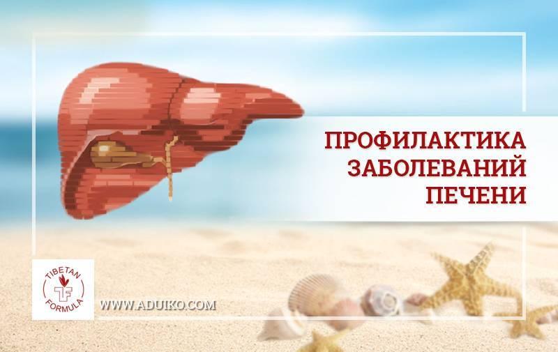 Питание для профилактики заболеваний печени