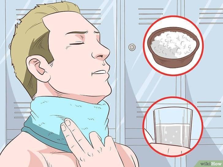 Таблетка застряла в горле — что делать