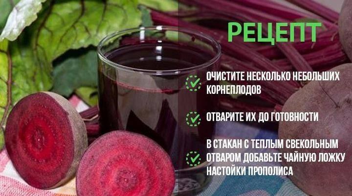 Свекольный сок от ангины: рецепты лечения для детей и взрослых