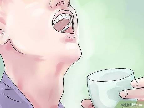 Полоскание горла соком буряка