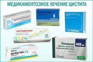 лекарства от цистита у мужчин