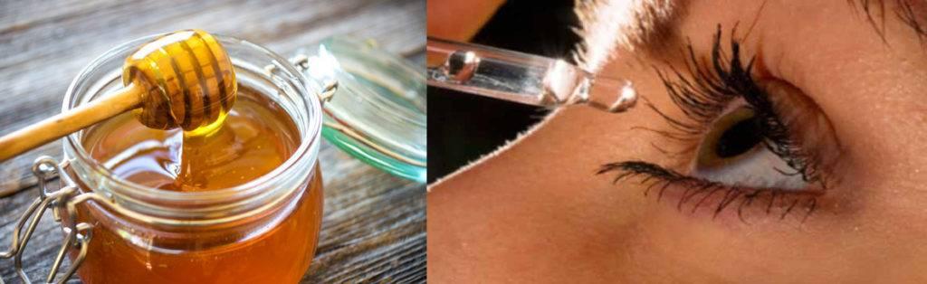 Лечение глаз медом в домашних условиях: народные средства для улучшения зрения, рецепты