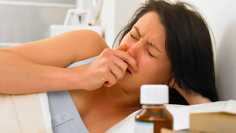 гайморит и кашель