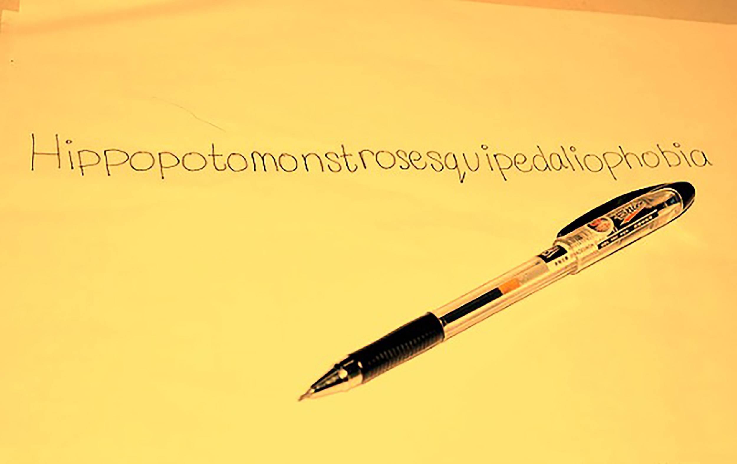 Причины боязни длинных слов: почему называется гиппопотомонстросесквипедалиофобия