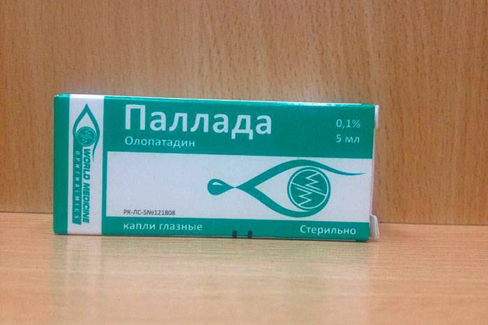 Глазные капли опатанол – инструкция по применению в глаза