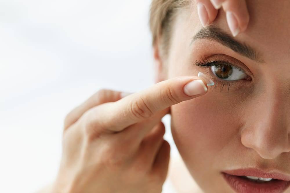 вред линз для глаз