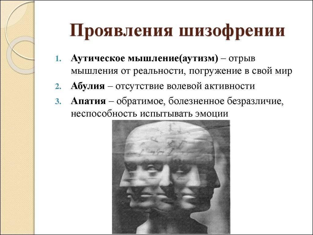 поведение при шизофрении у мужчин