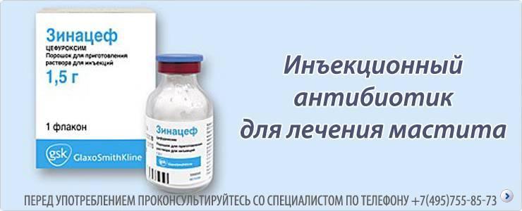 Лечение мастита - медицинский портал eurolab