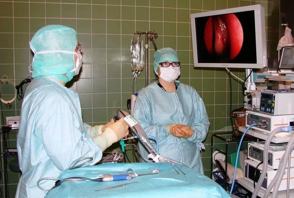 лечение гайморита лазером