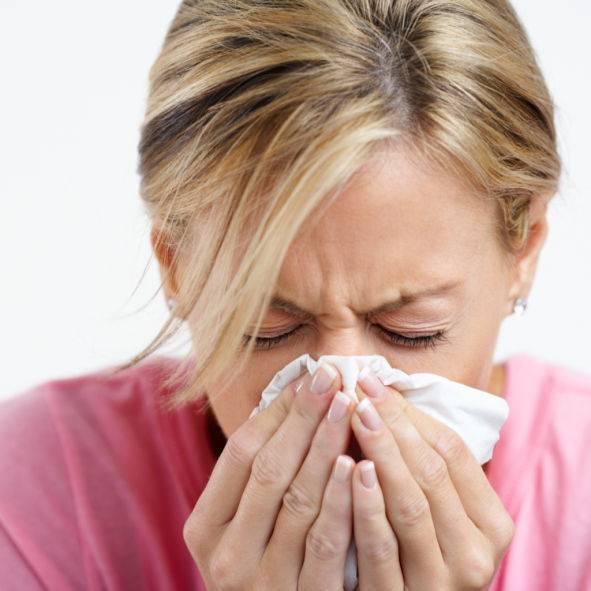 Чихание и насморк без температуры лечение