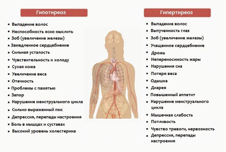 Полный перечень причин болезней щитовидки