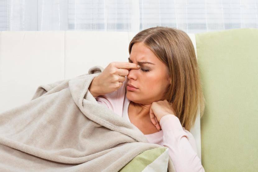 болит внутри носа
