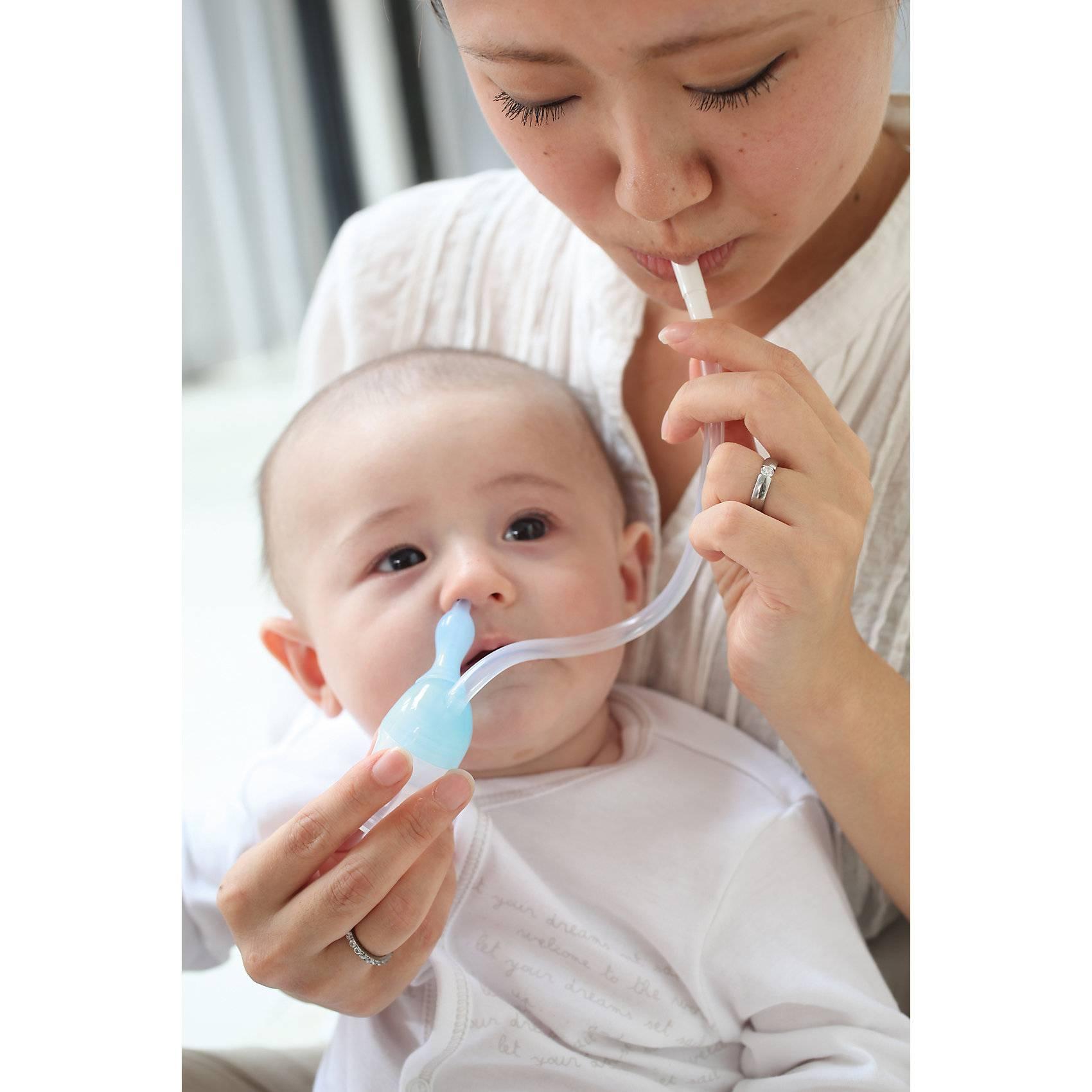 Как аспиратором чистить носик новорожденному?